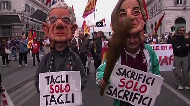 European workers protest austerity