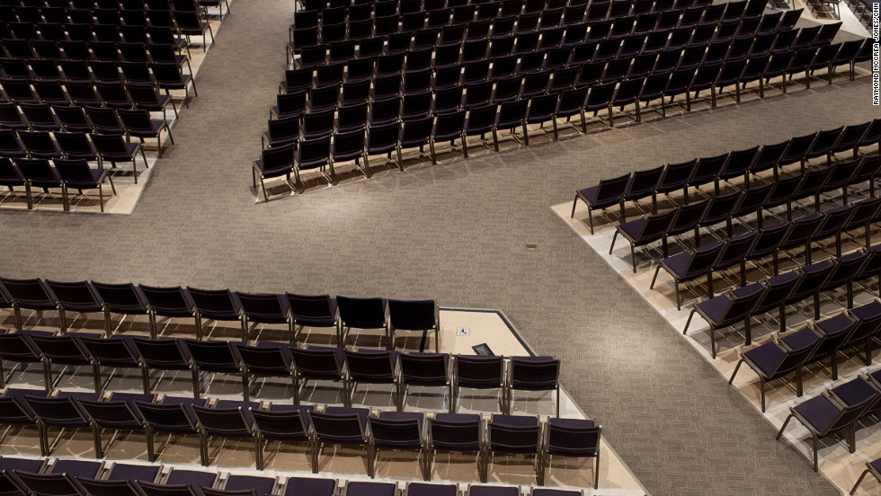 Photos Inside The Churches Of Charles And Andy Stanley