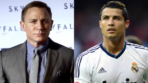 Daniel Craig and Cristiano Ronaldo have both been outspoken in their desire to reclaim a right to privacy. Both men have become frustrated with their treatment in public.