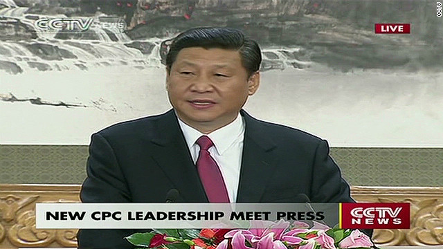 Xi Jinping: 'Responsibility on our shoulders'
