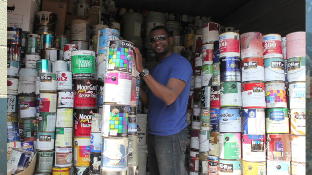 Recycled paint rehabilitates communities