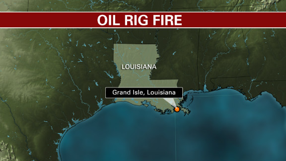 Map: Grand Isle, Louisiana