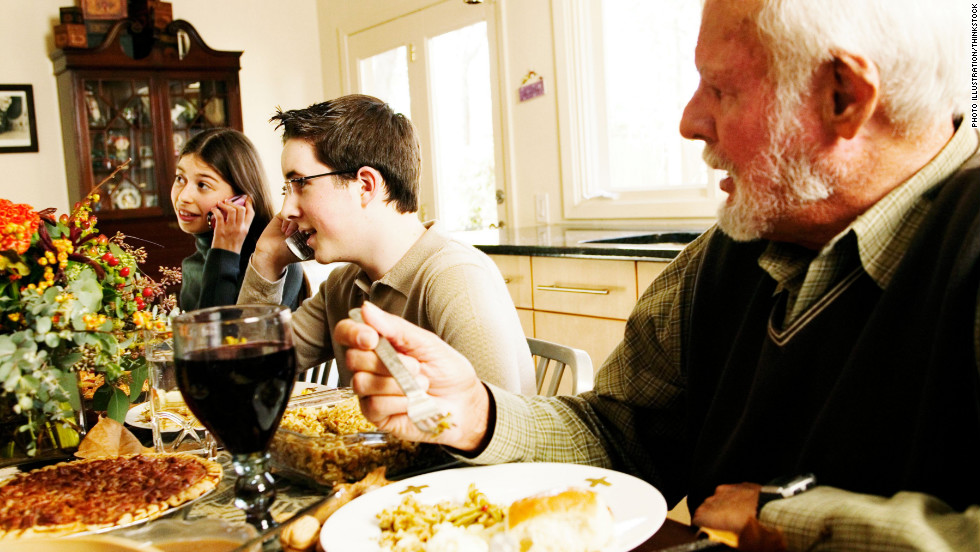 Are You Old Fashioned About Using Smartphones At The Holiday Dinner Table?