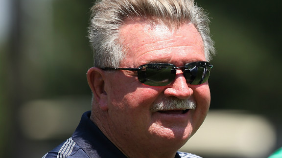 Mike Ditka attends the Packers vs. Bears 'Rivalry Cup' at Medinah Country Club on June 18, 2012 in Medinah, Illinois.