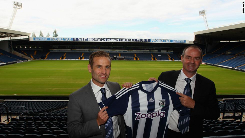 West Brom's former sporting and technical director Dan Ashworth was a key figure behind the club's success, before he started working for the Englsh Football Association in March. Ashworth, who was closely involved in bringing Yacob to the West Brom, is pictured here with Albion manager Steve Clarke.