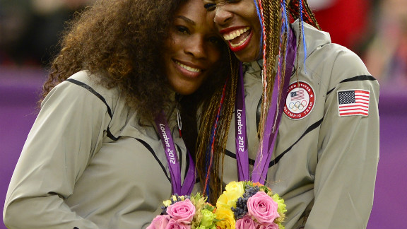 Unsurprisingly, Serena and Venus went on to claim gold in the doubles too. They confirmed to CNN they will defend their title at the Olympics in Rio in 2016.