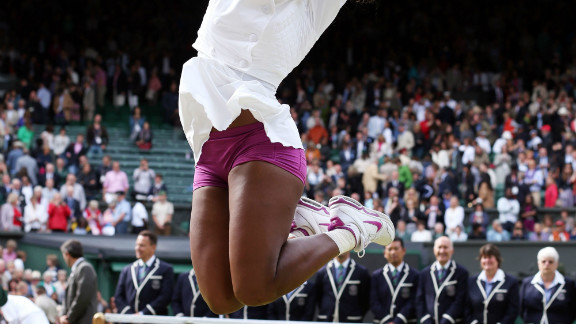 """But Serena stormed back to form at Wimbledon where she secured her fifth singles title at the All England Club and 15th grand slam crown. She overcame a mini meltdown after losing the second set in the final when she thought to herself: """"I"""