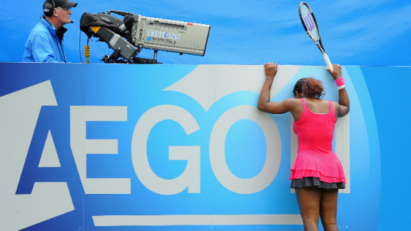 After nearly a year out with a foot injury and a life-threatening blood clot on her lung, Serena returned to the Tour in June 2011, at Eastbourne. Things didn