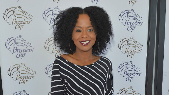 Tempestt Bledsoe at the Breeders' Cup on November 3, 2012 in Arcadia, California.