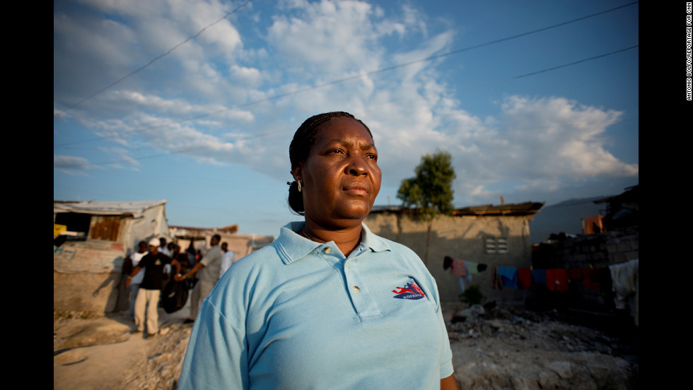 "Malya Villard-Appolon is a rape survivor dedicated to <a href=""http://www.cnn.com/2012/04/26/world/americas/cnnheroes-villard-appolon-haiti-rape/index.html"">supporting victims of sexual violence in Haiti</a>. In 2004, she co-founded KOFAVIV, an organization that has helped more than 4,000 rape survivors find safety, psychological support and legal aid."