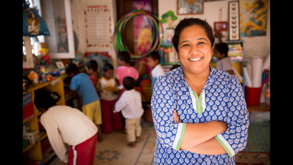 """Pushpa Basnet, the 2012 <a href=""""http://www.cnn.com/2012/12/02/world/cnnheroes-show/index.html"""">CNN Hero of the Year</a>, was shocked to learn that many children in Nepal had no choice but to live with their incarcerated parents behind bars. So she started a day care program for many of these children and opened a home in Kathmandu where dozens of them can <a href=""""http://www.cnn.com/2012/03/15/world/cnnheroes-basnet-nepal-prisons/index.html"""">live a more normal life</a>."""