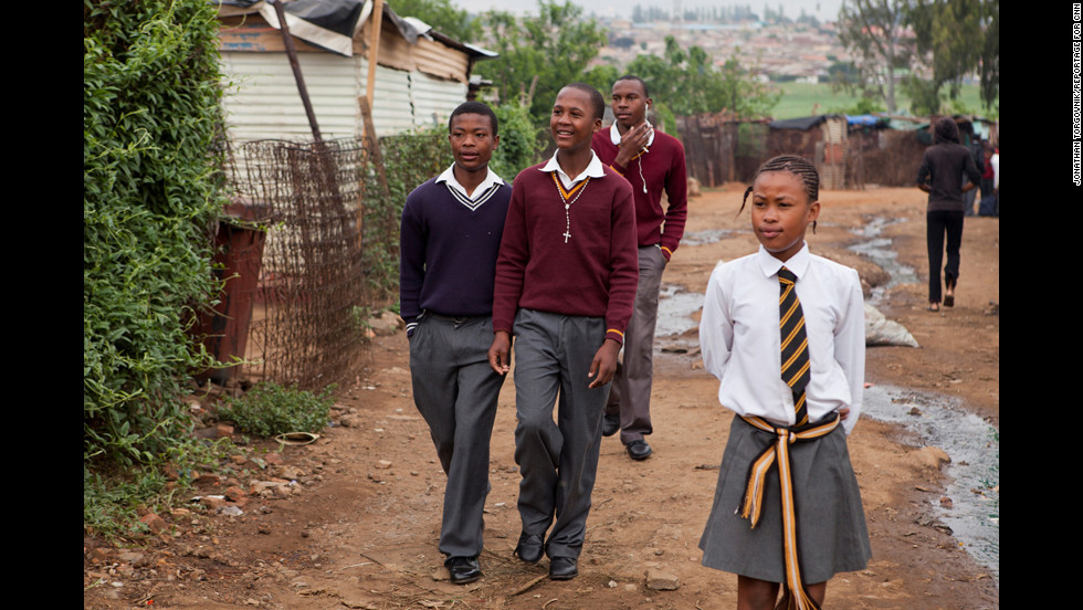 "Kliptown, a district in Soweto, South Africa, has long suffered from high rates of unemployment, crime and school dropouts. But Madondo's program is <a href=""http://www.cnn.com/2012/07/12/world/africa/cnnheroes-madondo-kliptown/index.html"">helping to change things</a>. ""There are more than 10,000 children in the community, so working with 400 might seem like nothing,"" Madondo said. ""But if (they) are dedicated ... we can make a difference."""