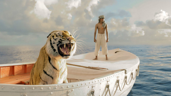 "Suraj Sharma played the title character in the 2012 film ""Life of Pi,"" based on Yann Martel's novel about a boy's struggle for survival after his ship, which was carrying zoo animals, sank in a storm. Pi spent many uneasy days at sea in a lifeboat with a Bengal tiger."
