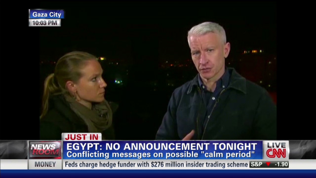 Anderson Cooper: No sign of calm yet