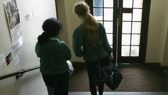 (File photo) Thousands of children in England have been exploited, according to a report.