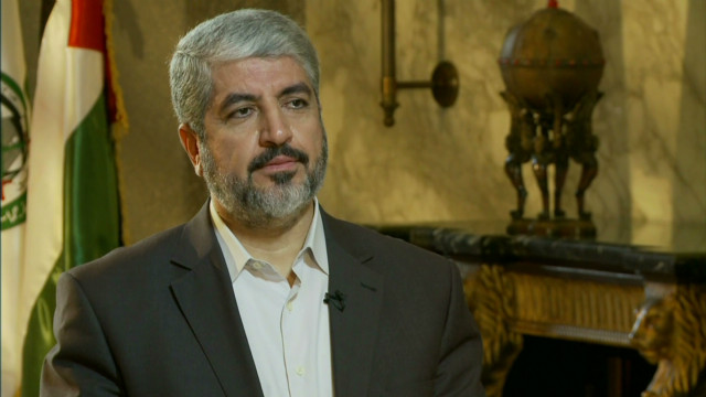 Hamas's political chief on cease-fire