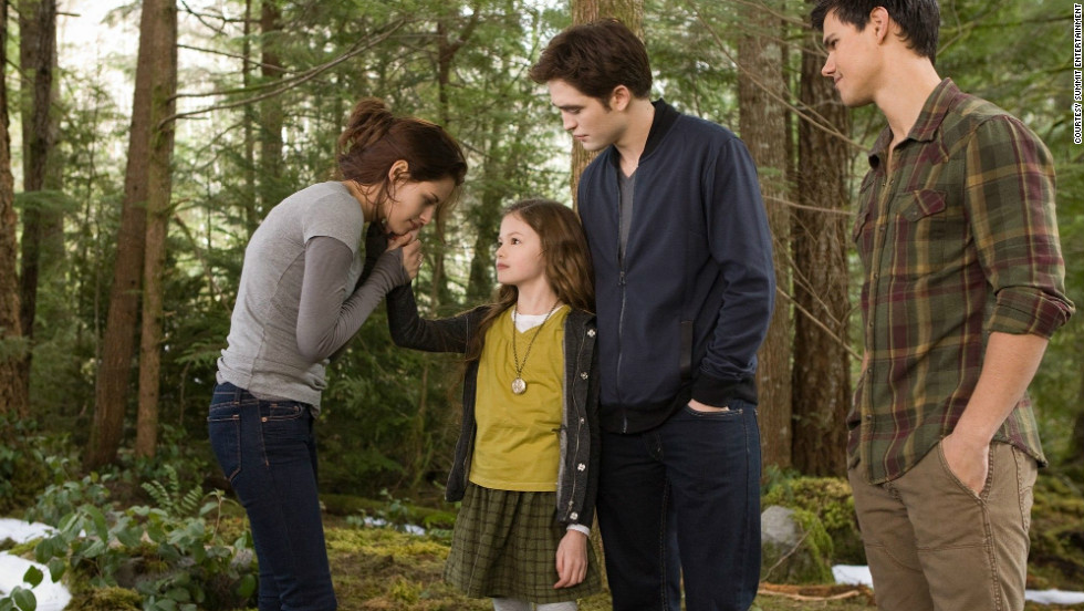 "The final installment of ""The Twilight Saga"" isn't a surprising entry on the list, but what might surprise you is how close it came to getting knocked off entirely. ""Breaking Dawn -- Part 2"" just barely edged out ""The Amazing Spider-Man"" to make it to No. 10 on our list. <a href=""http://www.cnn.com/2012/11/15/showbiz/movies/breaking-dawn-2-review-charity/index.html?iref=allsearch"" target=""_blank"">Here's a review of ""Breaking Dawn -- Part 2,""</a> and here's<a href=""http://www.cnn.com/2012/11/16/showbiz/movies/twilight-saga-refresher/index.html?iref=allsearch"" target=""_blank""> a refresher course on the ""Twilight Saga""</a> in case you need it."