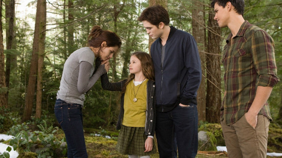 "The final installment of ""The Twilight Saga"" isn't a surprising entry on the list, but what might surprise you is how close it came to getting knocked off entirely. ""Breaking Dawn -- Part 2"" just barely edged out ""The Amazing Spider-Man"" to make it to No. 10 on our list. Here's a review of ""Breaking Dawn -- Part 2,"" and here's a refresher course on the ""Twilight Saga"" in case you need it."