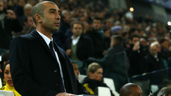 Roberto Di Matteo's tenure as Chelsea manager came to an end after Tuesday's 3-0 defeat to Juventus. Di Matteo was sacked despite leading Chelsea to European Champions League and English FA Cup glory just six months earlier.