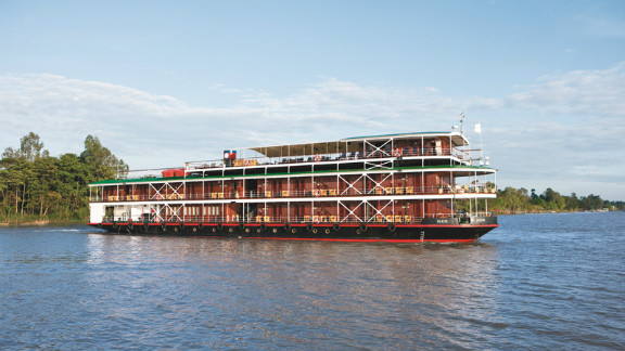 The Mekong and Irrawaddy will welcome more than a dozen new boat cruises in 2015. The rivers are main arteries through Myanmar, Laos, Vietnam and Cambodia.