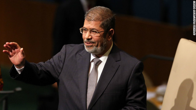 Egypt's Morsy grants himself more power