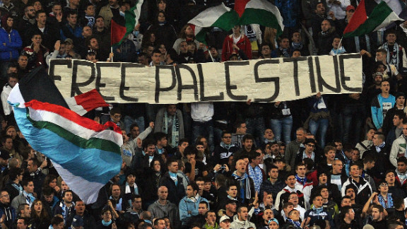 "A section of Lazio fans unfurled a ""Free Palestine"" banner during the 0-0 Europa League draw with Tottenham, which was marred by anti-Semitic chanting from the home supporters. Tottenham traditionally have a strong Jewish following."