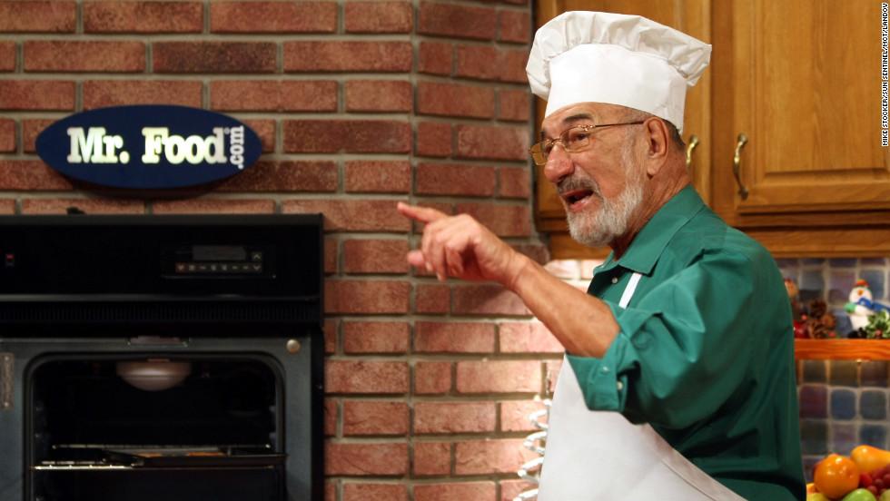 Tv Chef Art Ginsburg Billed Himself As Mr
