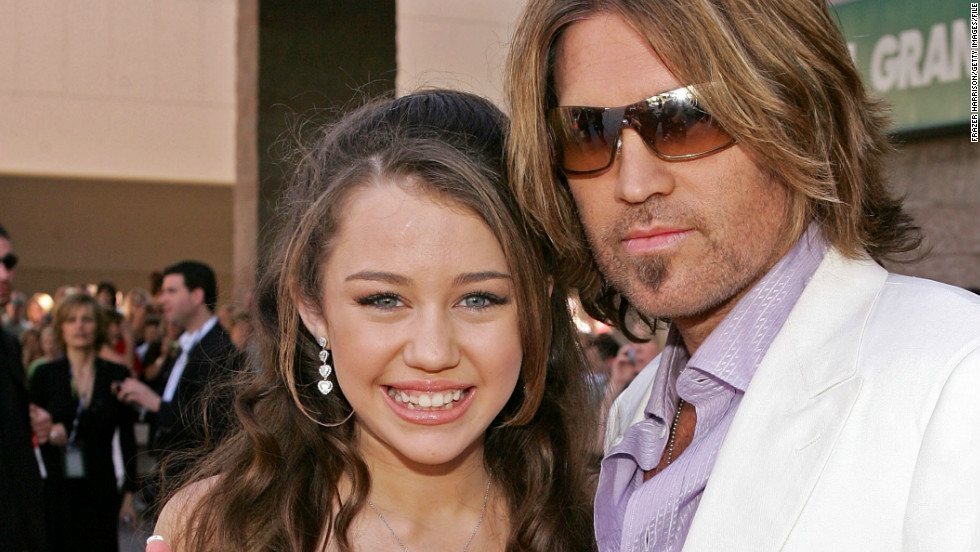 The urge to perform must run in the family. Cyrus, of course, is the daughter of country star Billy Ray Cyrus.