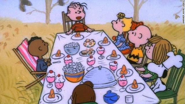 """A Charlie Brown Thanksgiving"" has been airing for decades."