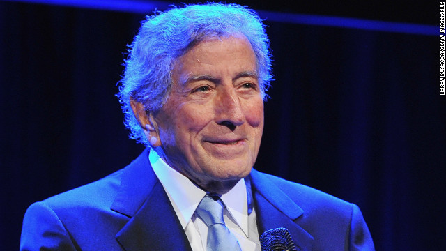 NEW YORK, NY - OCTOBER 04: Tony Bennett performs at the 6Th Annual Exploring the Arts Gala hosted by Tony Bennett And Susan Benedetto at Cipriani 42nd Street on October 4, 2012 in New York City. (Photo by Larry Busacca/Getty Images for Exploring The Arts)