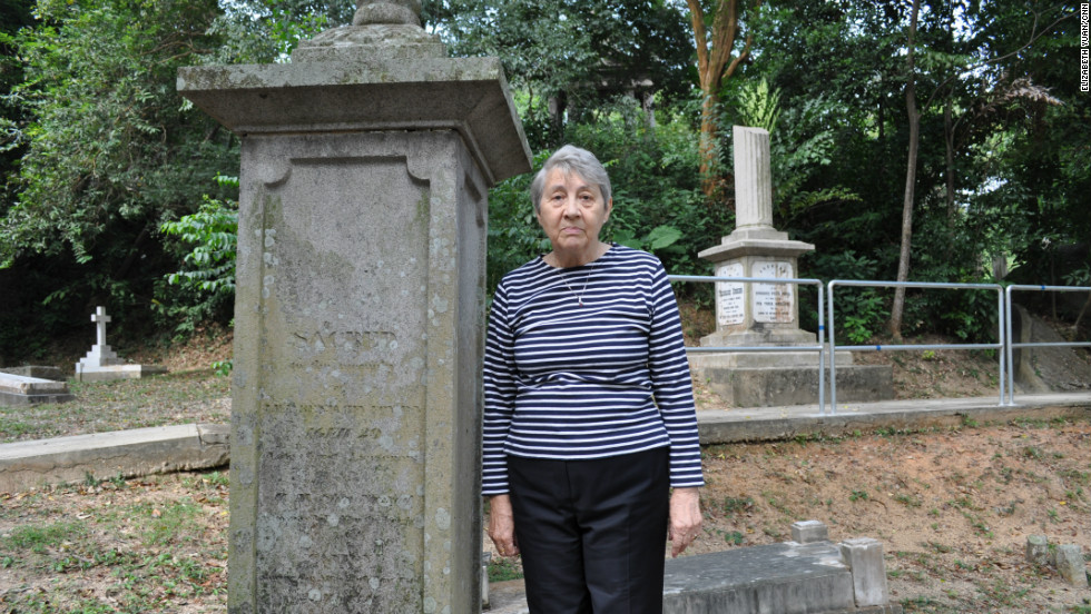 The grave of Lieutenant Benjamin Fox of the HMS Nimrod is the cemetery's oldest. He died during Britain's attack on Canton during the First Opium War, which led to China's cession of Hong Kong to Britain.