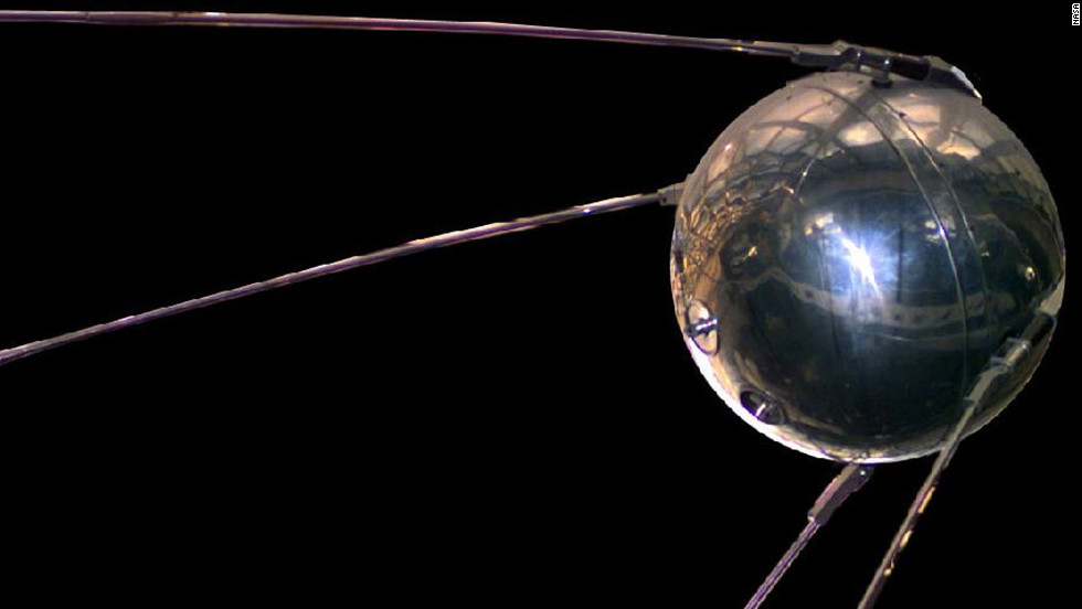 The Soviet Union launched the Space Age and the space race with the successful launch of Sputnik I, the world's first satellite, on October 4, 1957. It orbited the Earth every 98 minutes.