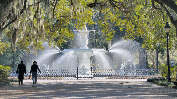 The velvety drawl of the southerners living in Savannah, Georgia, helped them land the number 8 spot on T+L