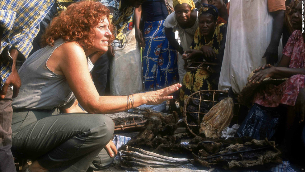 Claudine Andre, left, founded Lola Ya Bonobo in the DRC in the mid-1990s, the world's first and only bonobo sanctuary.