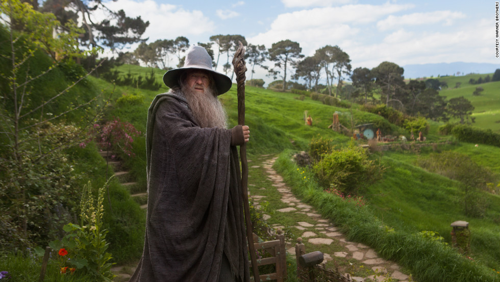 "The day has finally arrived. All eyes are on New Zealand's capital, Wellington, as it prepares for the world premiere of Peter Jackson's adaptation of ""The Hobbit."""