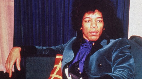 """Born in Seattle in 1942, Hendrix taught himself to play guitar as a teenager and played in high school bands before enlisting in the Army, according to <a href=""""http://www.rollingstone.com/music/artists/jimi-hendrix/biography"""" target=""""_blank"""" target=""""_blank"""">Rolling Stone</a>. By  the early '60s, Hendrix had been discharged and was playing backup for acts including Sam Cooke, B.B. King, Little Richard and the Isley Brothers."""