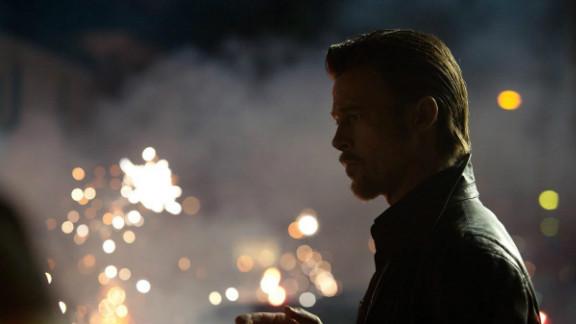 "Brad Pitt plays enforcer Jackie Cogan in ""Killing Them Softly."""