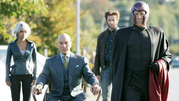 """Patrick Stewart and Ian McKellen as Prof. X and Magneto in 2006's """"X-Men: The Last Stand."""""""
