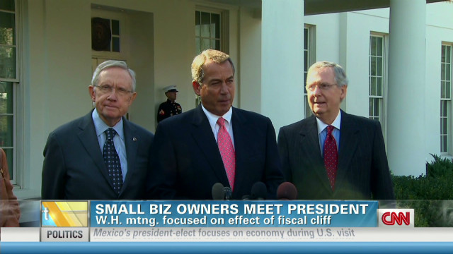 Obama met with 15 small business owners