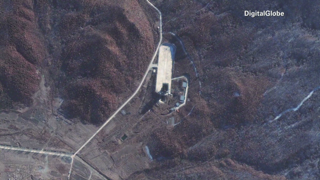 New activity at North Korean launch site