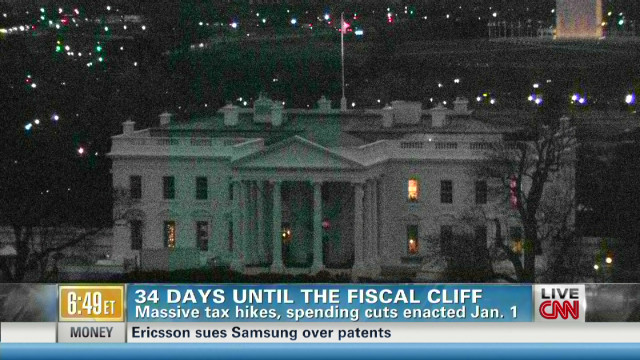 U.S. closing in on fiscal cliff