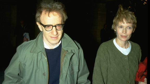 """Allen's romantic relationship with Farrow's adopted daughter, Soon-Yi Farrow Previn, did not help their custody battle over their three kids go smoothly. In awarding Farrow custody in 1993, the judge characterized Allen as a """"self-absorbed, untrustworthy and insensitive"""" dad. Allen later married Previn and the couple adopted two children."""