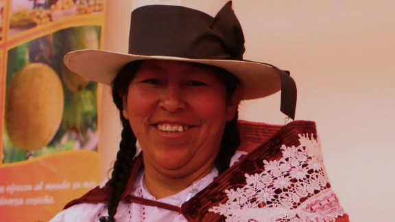 Peruvian farmer Marisol Medrano:  The rainfall pattern has changed so much and is one of the causes for the appearance of plagues and diseases as