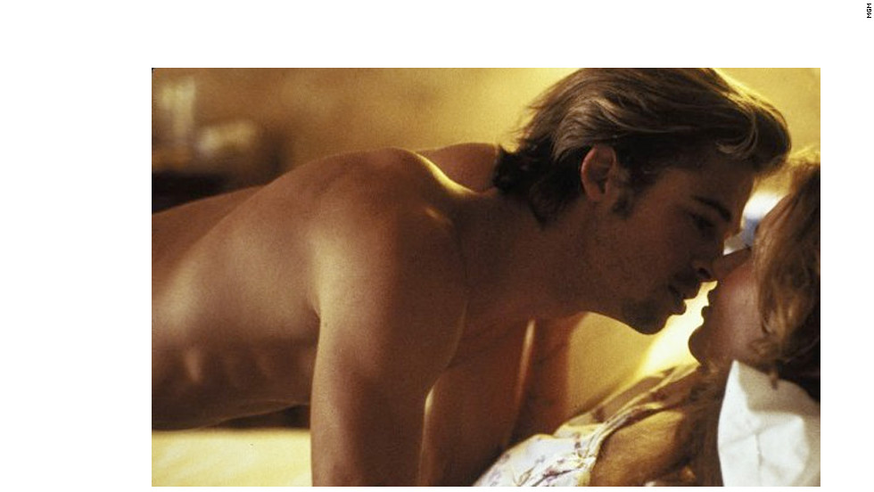 "In 1991, Brad Pitt established himself as a sex symbol in the making thanks to his steamy shirtless work in ""Thelma & Louise."""