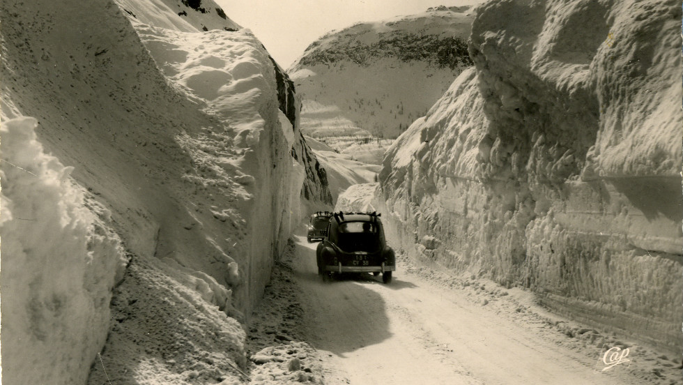 Val d'Isere was a treacherous place to get to in the winter months. The Iseran mountain pass, opened in 1937, encouraged more people to visit the village -- which was often was buried in snow eight months of the year -- as skiing became a popular leisure pursuit.