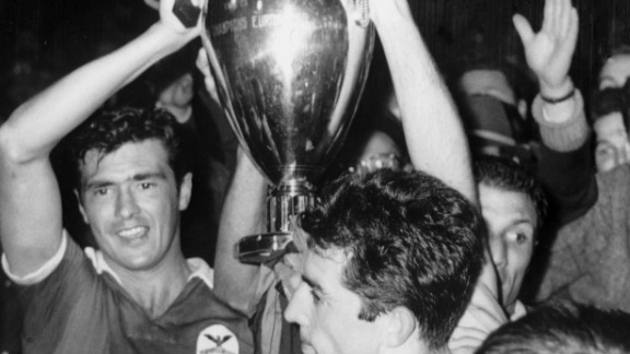 Guttmann led Benfica to glory in the 1961 European Cup final, beating Barcelona 3-2. After arriving at the club from Porto in 1960, Guttmann immediately fired 20 of his squad before going on to win the Portuguese league title two years in a row.