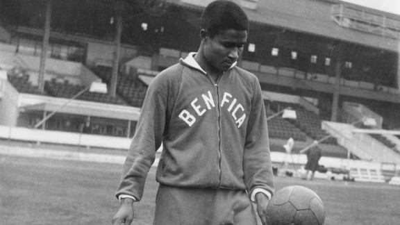 Eusebio was brought to Benfica from Mozambique by Guttmann in 1961. Under his guidance Eusebio would go on to greatness, establishing himself as one of the game
