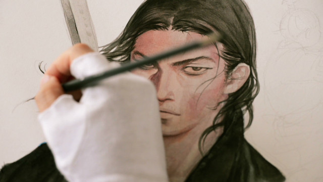 Manga master paints 'real' characters