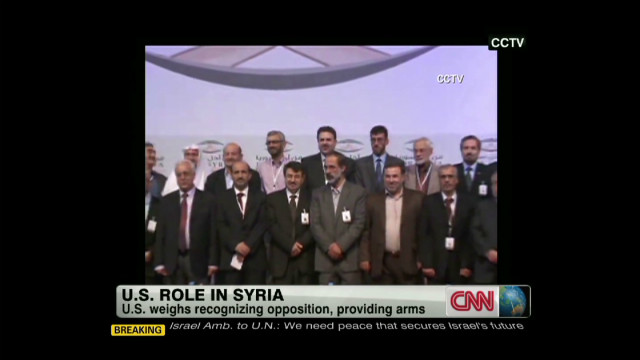 U.S. view on Syrian opposition