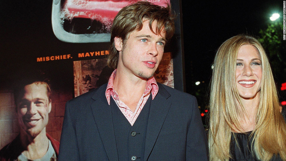 In 1999, Pitt was just as famous for his relationship with Jennifer Aniston, whom he started dating in 1998, as he was for his film career.